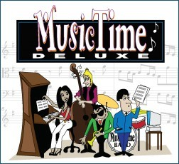 Music Time Deluxe - Notensatz am PC und Mac - Update / Upgrade lieferbar